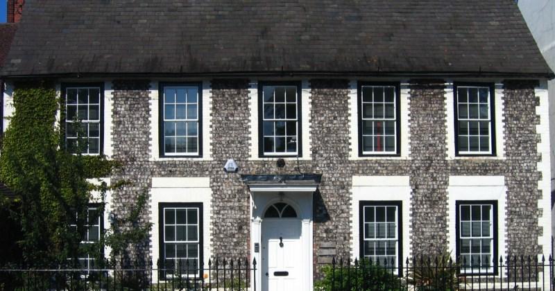 The Old House. circa 1750