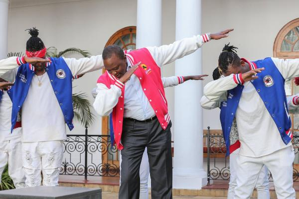 Kenya President Dabs And This Is What He Gets From Kenyans