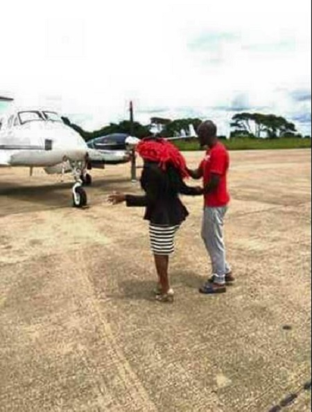Unbelievable: Check Out What This Man Bought For His Wife As Valentine Present + Photos