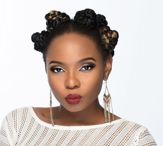 Wow: Check Out Pictures That Prove Yemi Alade's Hair Defines Her Personality