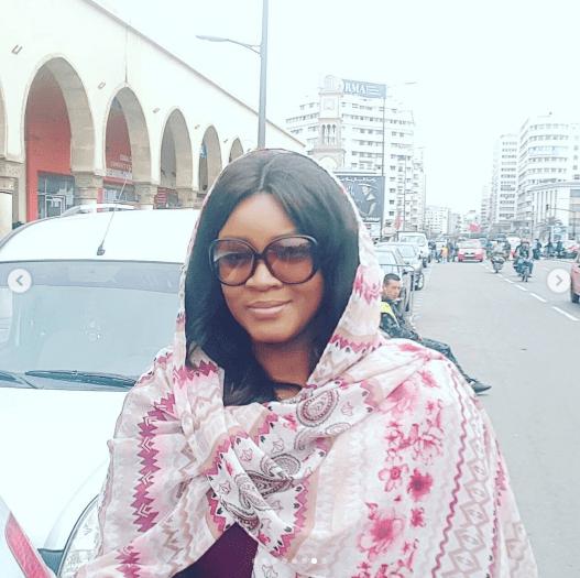 Veteran Nollywood Star Omotola Jalade Converts to Islam?