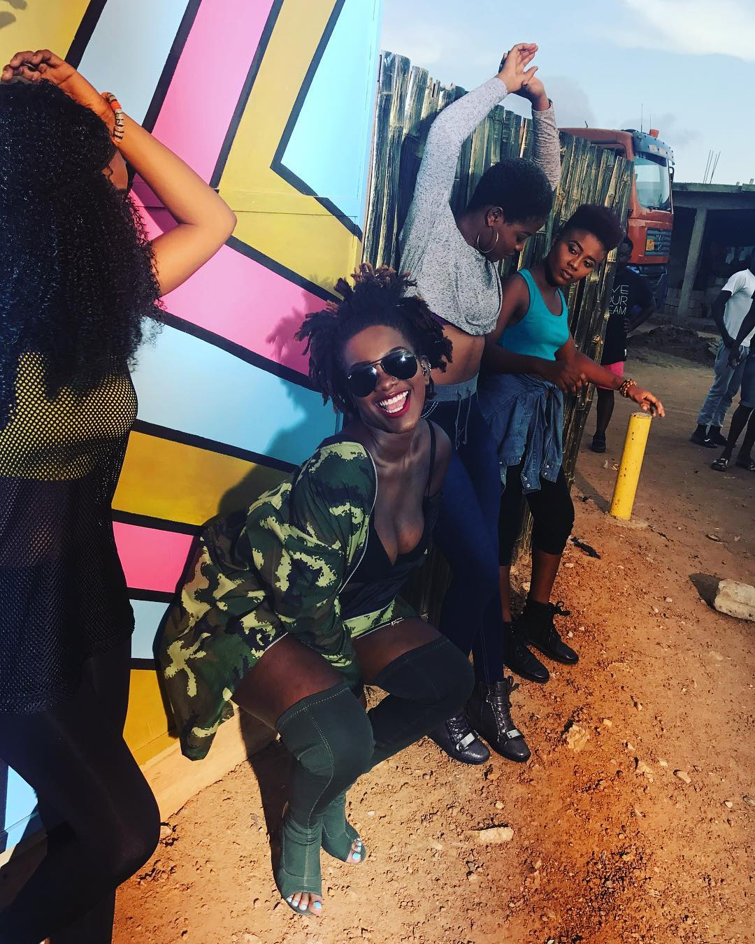 Photo: This Infectious Smile Of Ebony Reigns Is All You Need This Sunny Day