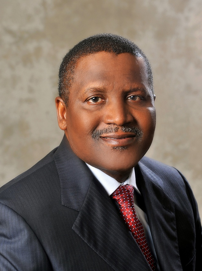 Photos: Here is How Africa's Richest Man Celebrated His Birthday