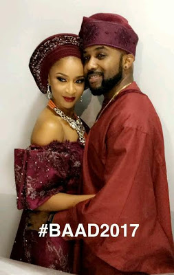 Adesua Etomi and Banky W's Introduction Photos Look So Beautiful For Words