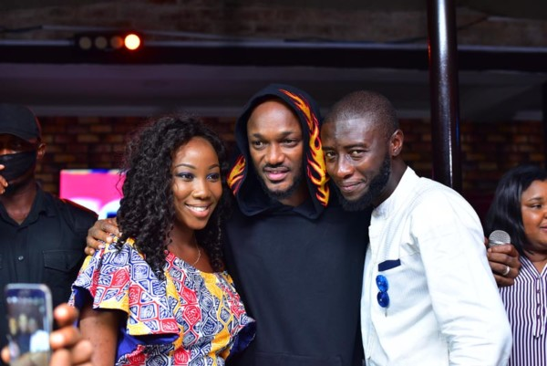 Photos: Nigerian Iconic Musician, 2baba Excites Arsenal Fans In Nigeria