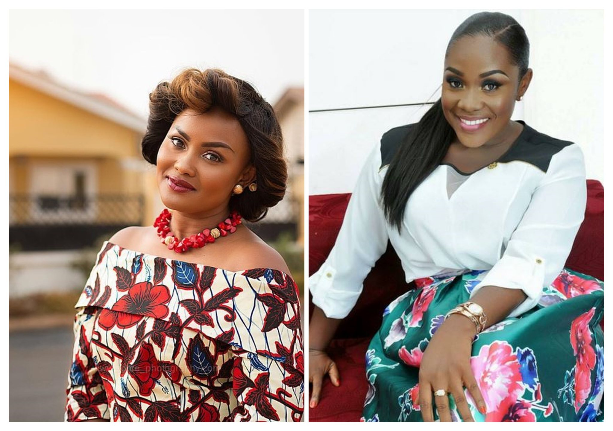 Must Read: See What Nana Aba Mcbrown And Emelia Brobbey Did That Everyone On Social Media Is Talking About
