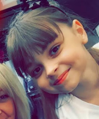 8-Year-Old Saffie Rose Rousse Named As Second Victim Of Manchester Arena Suicide Bombing