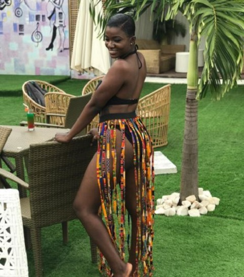 HOT Photo: Ahuofe Patri Shows She's Is A True Barca Fan And Here's Proof
