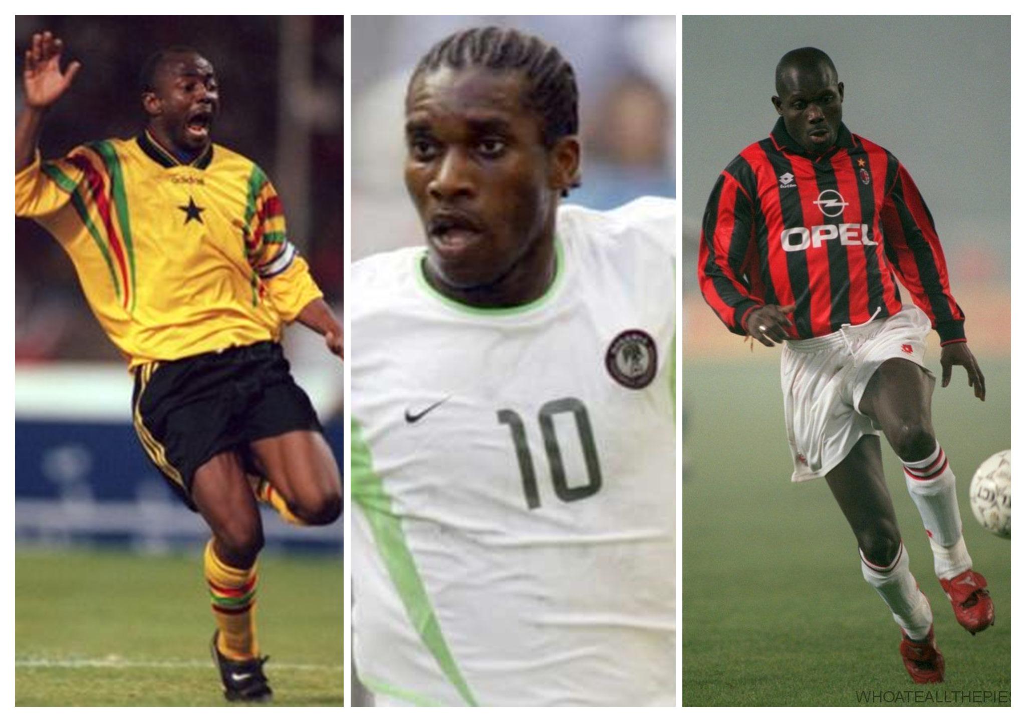 Most Skillful African Player Ever: George Weah Chooses JJ OKocha Over Abedi Pele