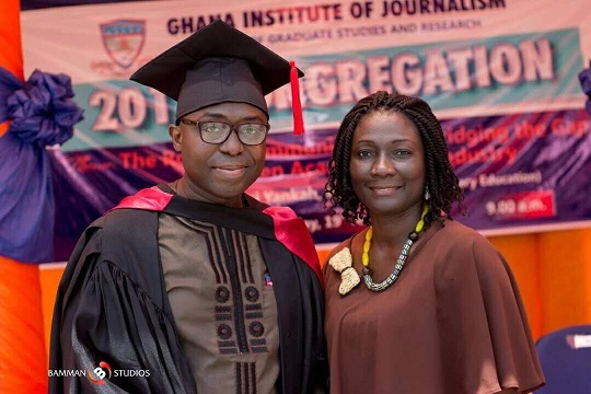 """""""This Degree Has Been 17 Years In The Making""""- Kafui Dey"""