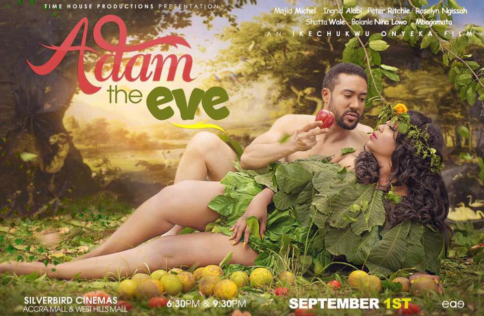 Majid Michel Goes Half Naked For Movie Poster And We Are Shocked