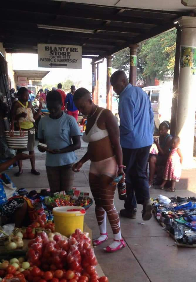 Fashion MADNESS: Checkout What This Lady Wore To The Market That Got People Talking (+Photos)