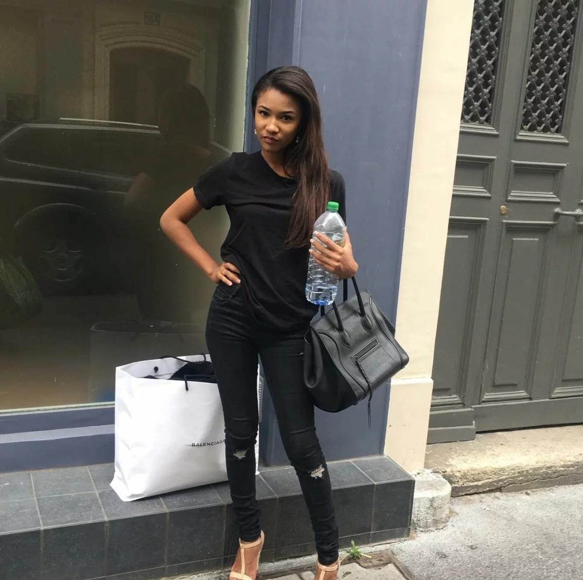 Abedi Pele's Gorgeous Daughter Flaunts Her Boyfriend On Instagram