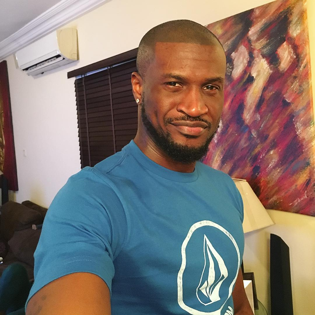 Peter Okoye Is Now A Solo Artiste And His Customized Pendant Is A Proof