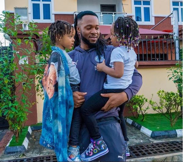 This Video Of Flavour's Daughters Wishing Him A Happy Birthday Is Trending