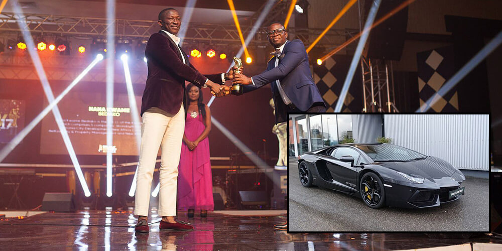 Nana Kwame Bediako: Check Out The Expensive Garage of The Man Who Bought  Cristiano Ronaldo's Lamborghini