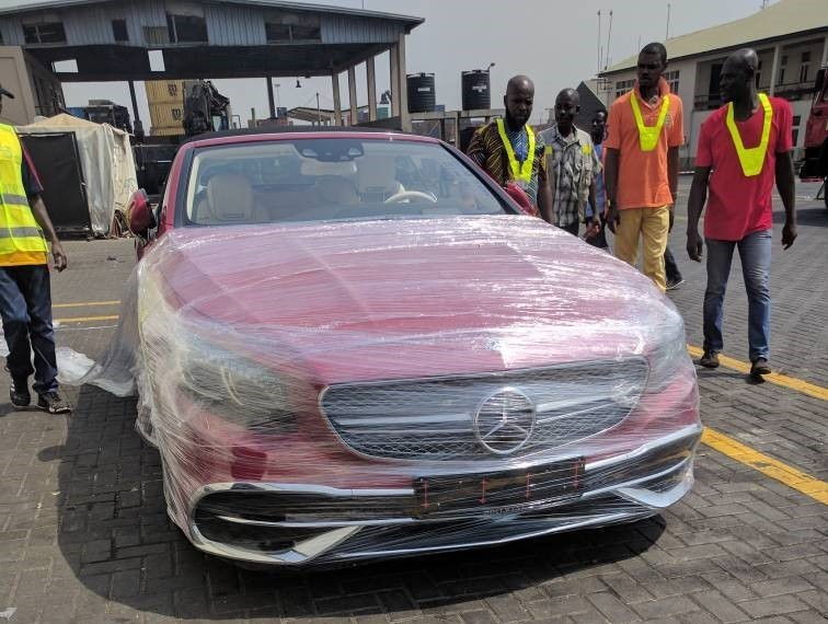 Check out Osei Kwame Despite's Expensive 2018 Mercedes-Maybach Which Is Also The First In Africa.