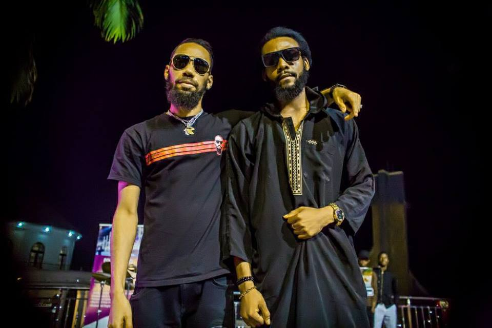 Phyno Finally Meets His 'Twin' Brother And The Resemblance Is Just Fascinating