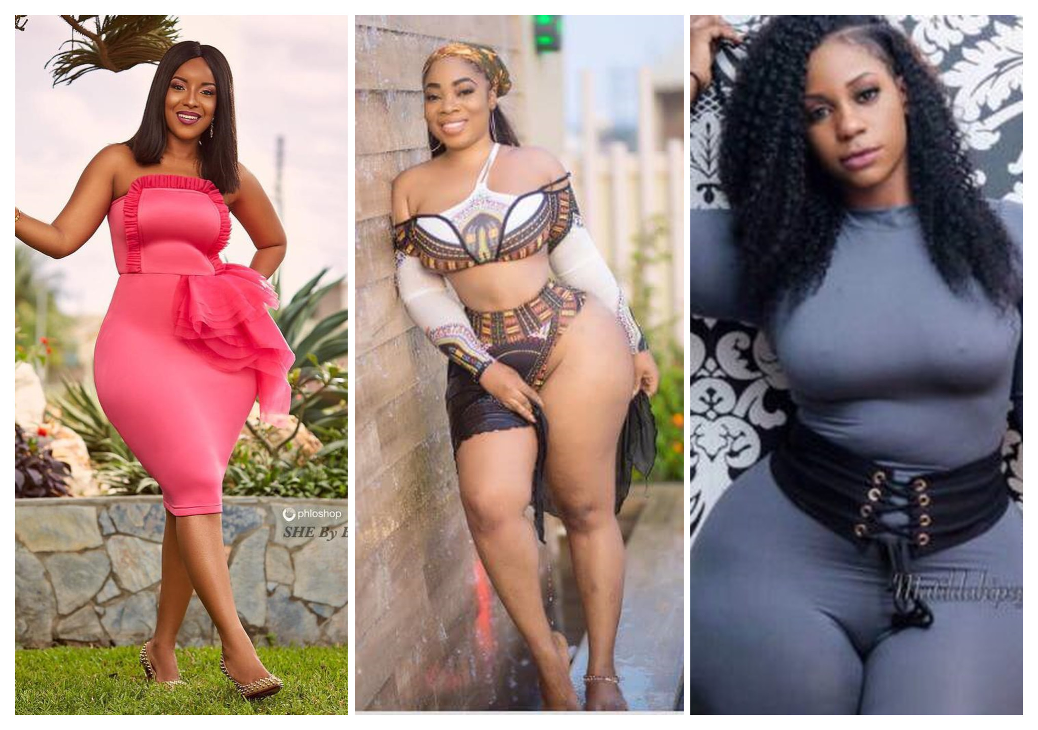 10 PHOTOS Which Prove That Ghanaian Female Celebs Have The BIGGEST Backside In Africa