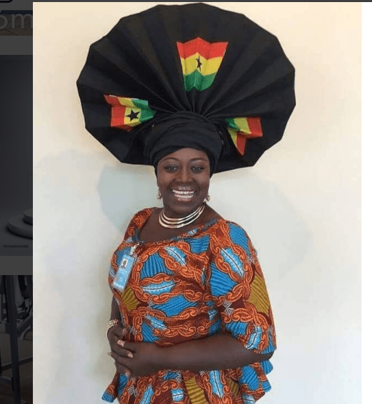 All The Times Akumaa Mama Zimbi Carried A DSTV Dish On Her Head As A Head Gear