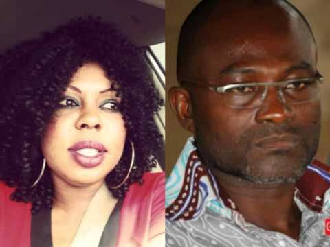 Afia Schwarzenegger Fights Kennedy Agyapong Over Anas (+VIDEO)