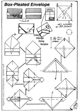 Box-Pleated Envelope – Angelo Polidori