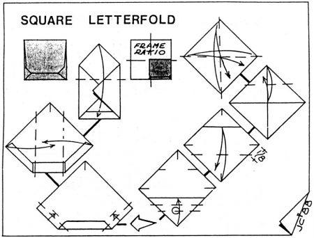 Square Letterfold – John Cunliffe– Shuzo Fujimoto