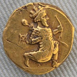 سکه طلای دریک هخامنشی