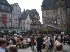 Marburger Marktfrühschoppen