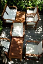 The Fig Cafe Lounge: Được thiết kế theo phong cách chủ đạo là thiền và tịnh, The Fig café lounge mang đến cảm giác thoải mái và dễ chịu với vật liệu tự nhiên, màu xanh củ cây và những pho tượng vừa uy nghiêm vừa nhân từ. Địa chỉ : The Fig - Lounge & Cafe, số 15 Nguyễn Thị Huỳnh, P.8, Q.Phú Nhuận, TP HCM.