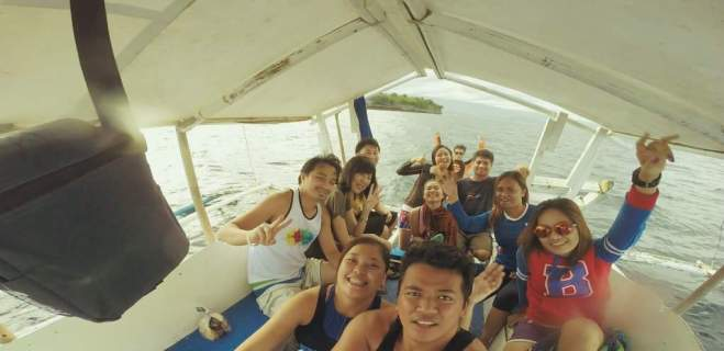 Jellyfish Family. We're off to Pescador Island