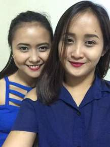 With my Ate/Make-up Artist