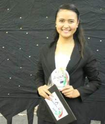 One of the Best in News Anchor ABS-CBN Campus Patrol Year 8