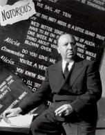 Alfred Hitchcock fotografato da Ernest Bachrach per Notorious, 1946. RKO © John Kobal Foundation