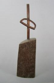 Sculpture, 1990, 175 x 48 x 40 cm, bois, cire