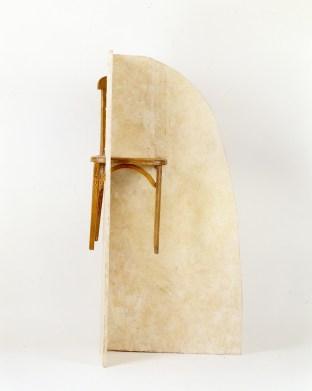 Sculpture, 1991, 150 x 69 x 59 cm, bois, cire