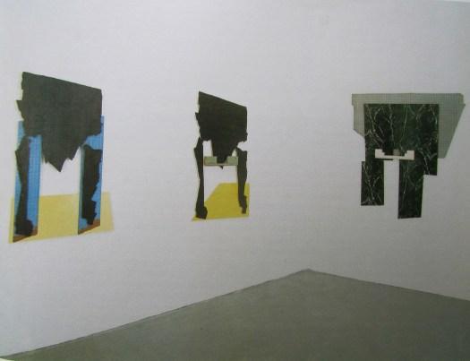 Vue de l'exposition: résidences Fondation Cartier, Jouy-en-Josas, 1989