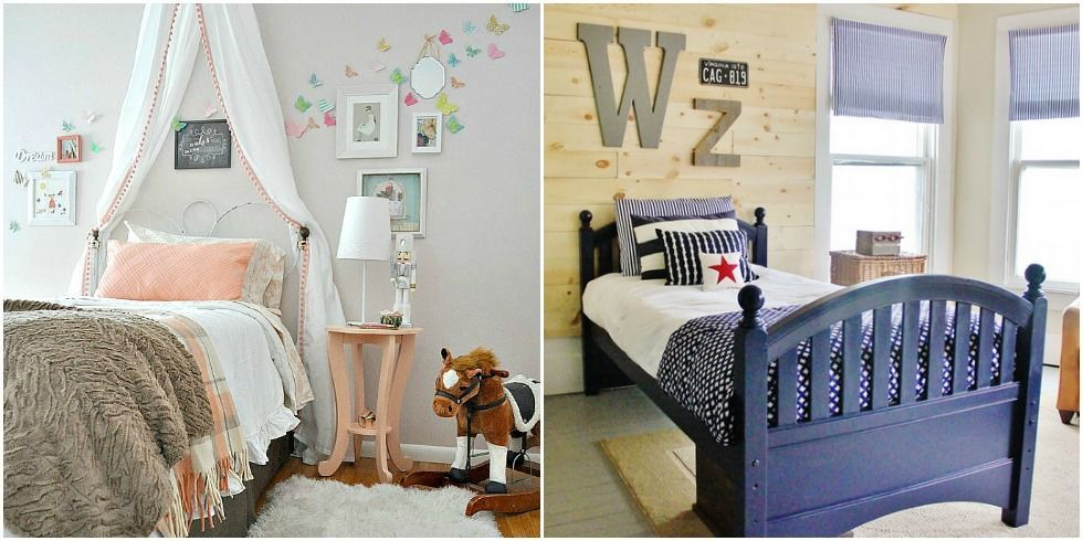 DIY Boys And Girls Bedroom