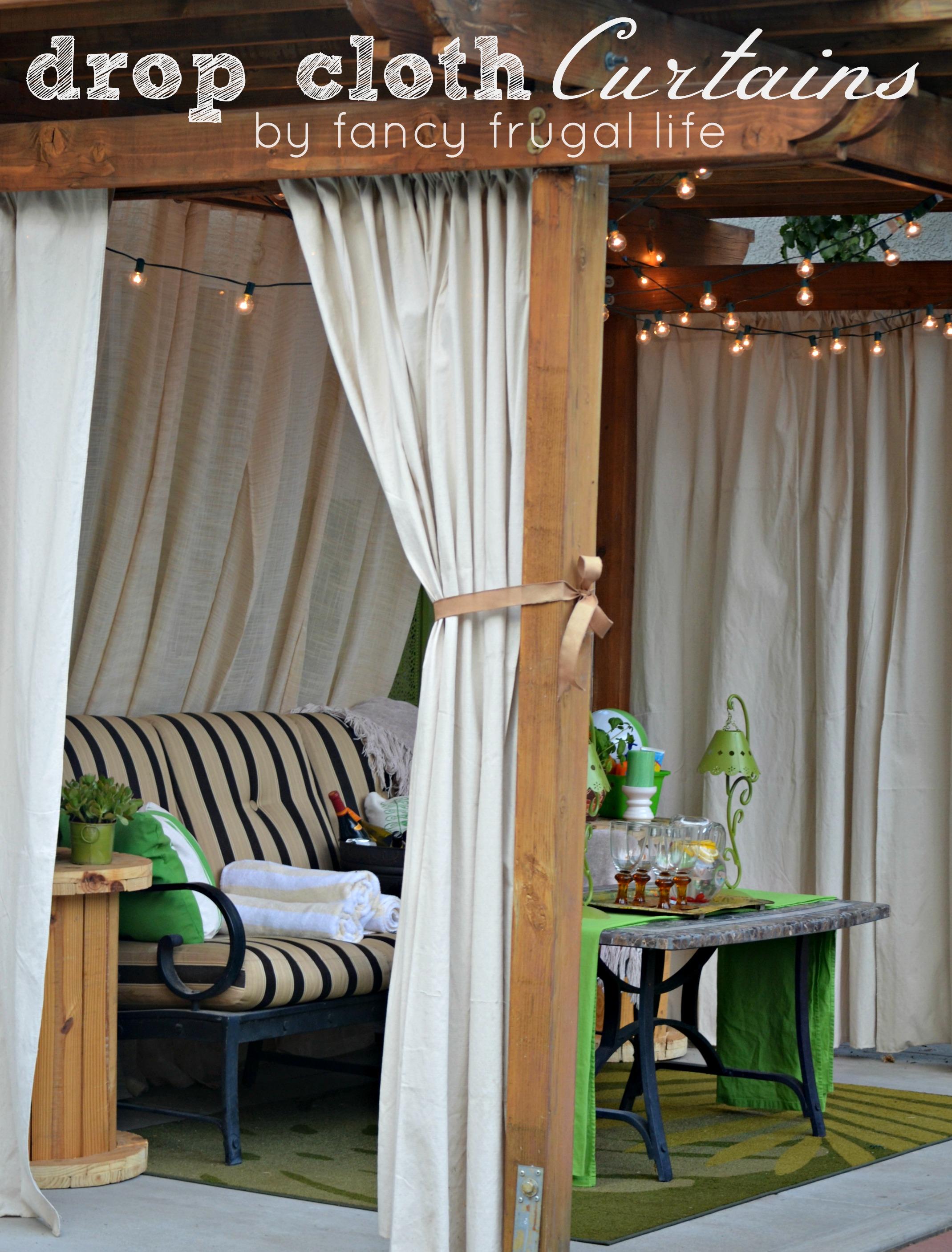 DIY Patio Privacy Screens - Backyard Patio Ideas on Build Backyard Patio id=57924