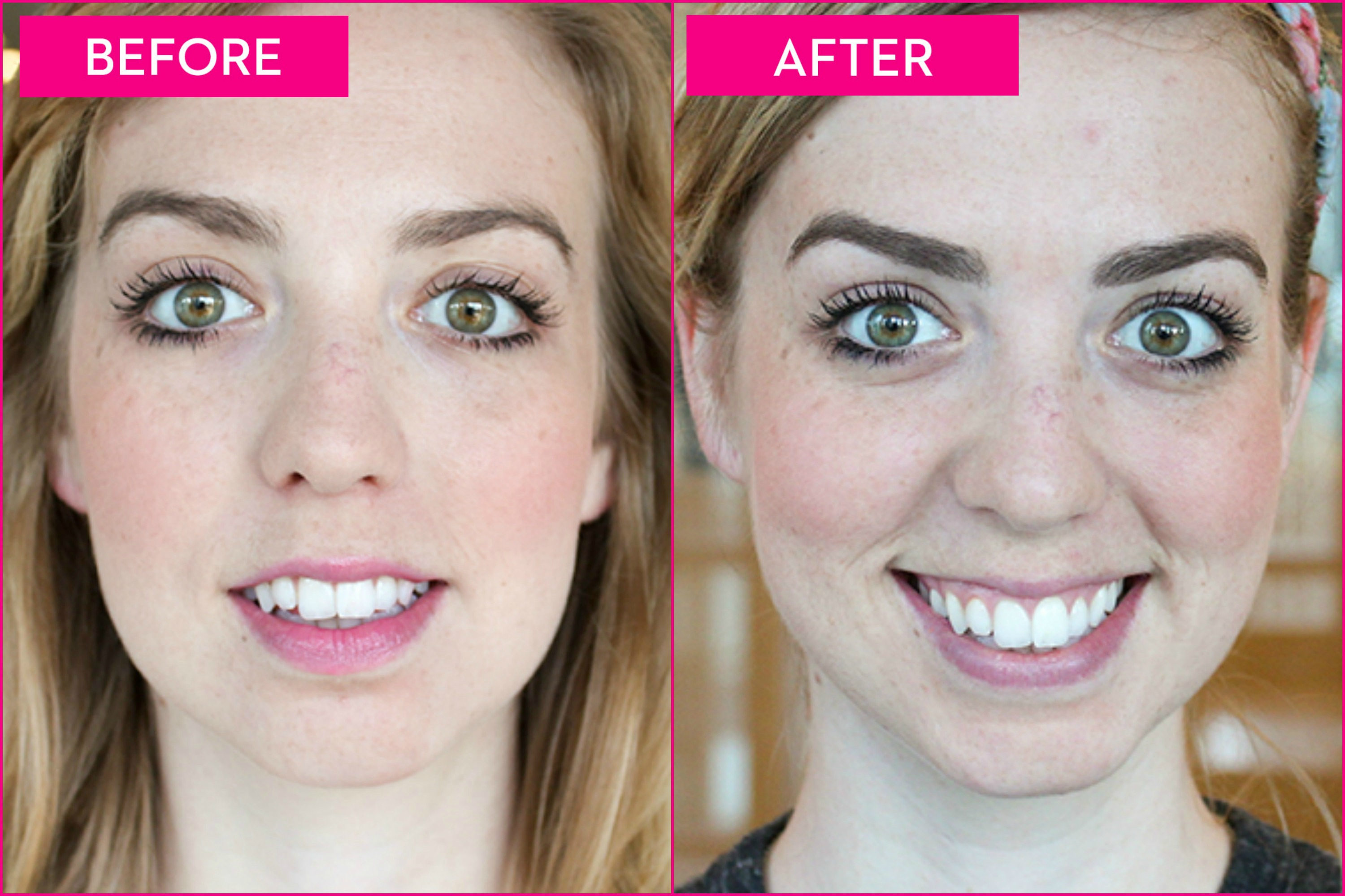 4 Eyebrow Makeovers Before And After