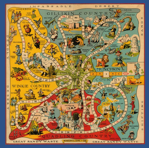Vintage Board Games - The History of Board Games