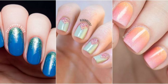 24 Glitter Nail Art Ideas To Make Your Manicure Sparkle