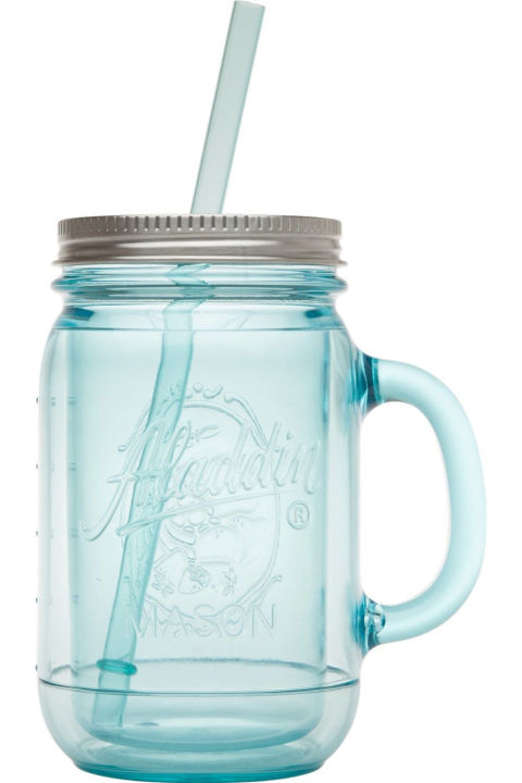 ($9, amazon.com) Mason Jars are popular in the kitchen and for DIYs, so it's no wonder they're just as awesome as a plastic tumbler. Fill 'em with candy canes and chocolates for a festive touch.