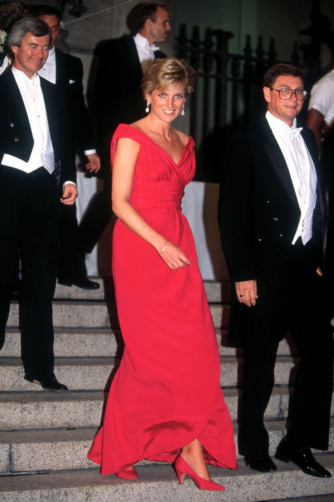 The Princess especially adored this Victor Edelstein number. She rewore the dress a whopping eight times over the years.