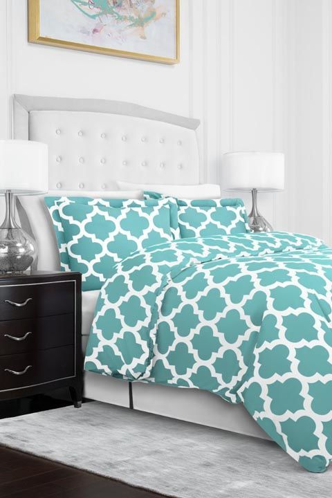 $21 BUY NOW If you don't already have one, consider a duvet or comforter. New bedding can create a whole new look, taking your room from graphic to girly, modern to classic, primary to pastel and more.