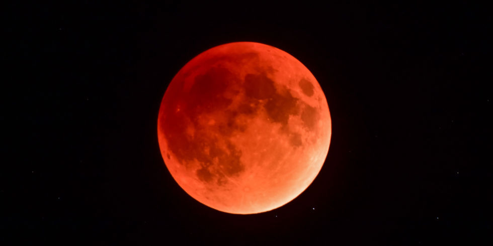 Image result for a rare super blue blood moon