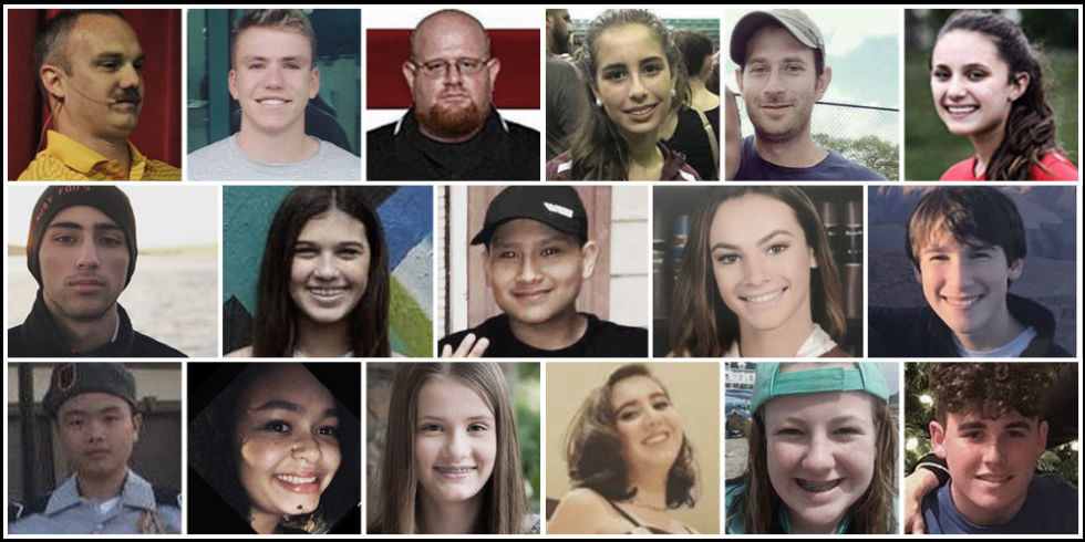 Image result for florida school shooting victims