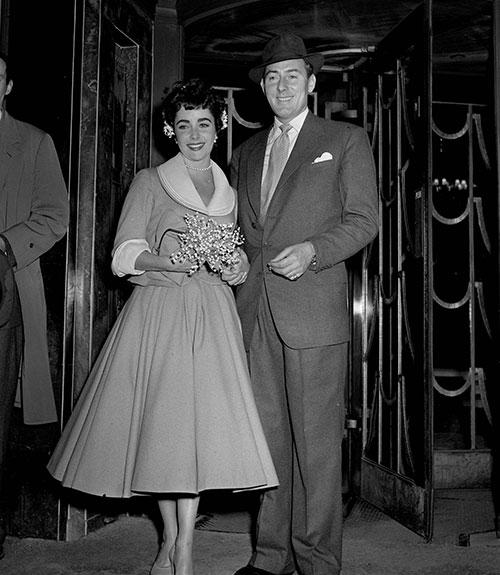 Elizabeth Taylor Wedding Dresses Elizabeth Taylors