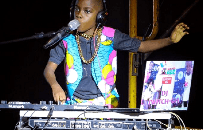 Ghana's youngest Deejay Dj Switch features on BBC