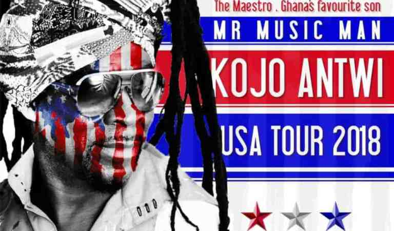 Kojo Antwi US tour kicks off in Chicago July 27